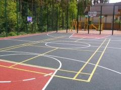 Строительство универсальных спортивных площадок