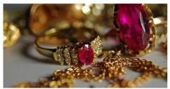 Gilding of silver and costume jewelry