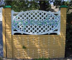 Installation of protections and fences