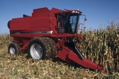Услуги по уборке зерновых комбайн Case 2388