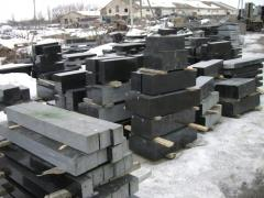 Production of details for granite monuments