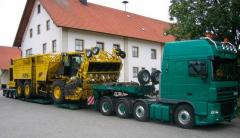 Delivery of heavyweight loads