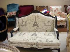Мягкая мебель в стиле прованс.