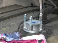 Монтаж датчика уровня топлива (ДУТ)