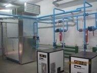 Compressor. Design, installation, commissioning