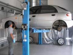 Удаление загрязнений кузова автомобиля