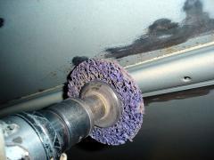 Устранение очагов коррозии кузова автомобиля