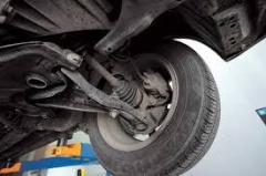 Устранение стука в подвеске автомобиля