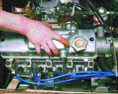 Промывка деталей рулевого механизма