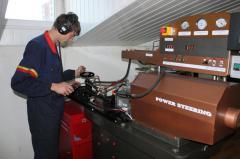 Проверка рулевого механизма на контрольно-измерительном стенде SD-WW01