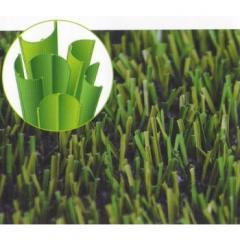 Raising of pile of an artificial grass of a