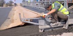 Будівництво бетонних доріг