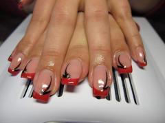 Correction of nails Kiev of Novopecherskiye are