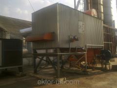 Transfer of sushka of elevators into pellets