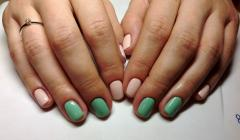 Services in a covering of nails of shellac Kiev