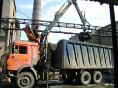Scrap metal cargo transportation