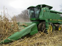 Cleaning service of a harvest combines