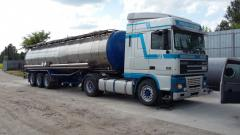 Transportation of petrochemical products