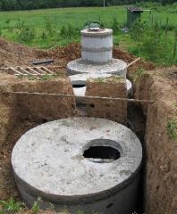 Установка канализации для дома