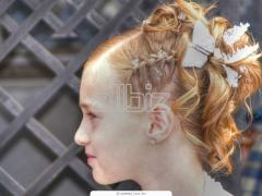 Стрижка в парикмахерской Лана