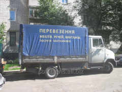 Transportation of building materials to 3 tons.