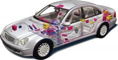 Монтаж GPS терминала легковой автомобиль