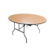 Table wooden round Stealth