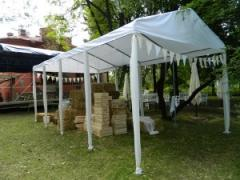 The tent is section