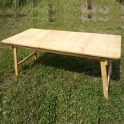Table wooden folding