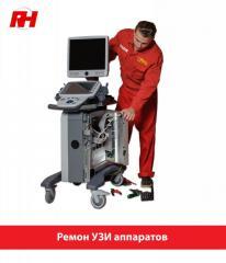 Ремонт ультразвукового оборудования