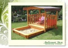Production of wooden sandboxes