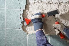 Dismantling works