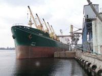 Услуги отгрузки сформированной партии в судно заказчика Херсонским КХП