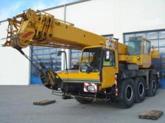 Услуги Автокран 40 тонн