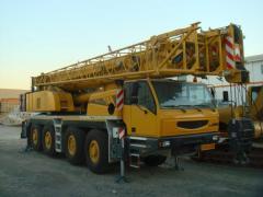 Услуги Автокрана 90 тонн