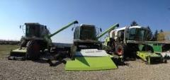 Repair of combine harvesters of any complexity