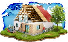Строительство домов для заказчика (индивидуальное строительство)