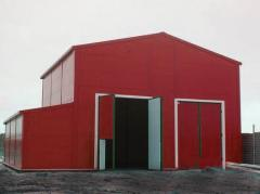 Изготовление и монтаж быстро монтируемых зданий