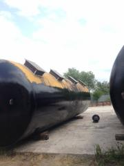 Transfer (installation - dismantle) tanks,