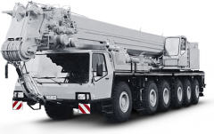 Rent of the Krupp 140 GMT-AT truck crane