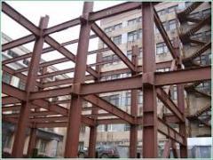 Услуги по изготовлению конструкций