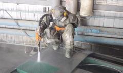 Sanding works Sumy Ukraine