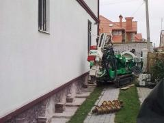Anchoring of retaining walls in Odessa and area