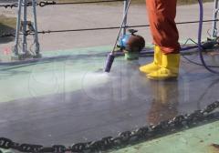 Очисткиа внешних поверхностей судов
