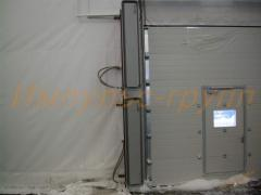 Installation of thermal veils Defender