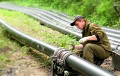 Installation of system of pipelines Odessa area
