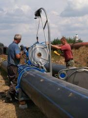 Services in repair of pipelines Odessa