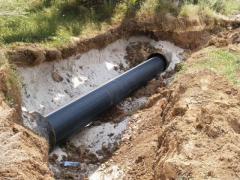 Installation of pipelines Odessa Ukraine