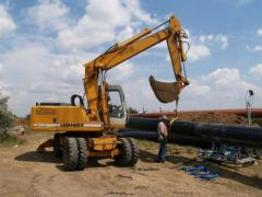 Services in installation of pipelines in Odessa