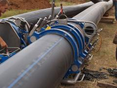 Mounting of steel pipelines Odessa